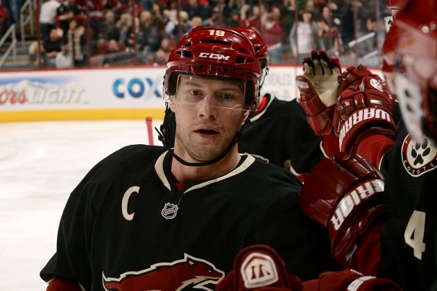 Phoenix's Shane Doan Records 500th Career Assist in Win over Kings