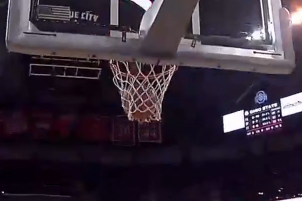 Video: OSU's Williams' Lucky Bounce on Dunk