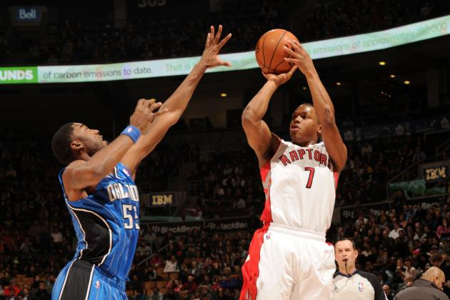 Toronto Raptors Make 1st Nine 3-Pointers Against Orlando Magic