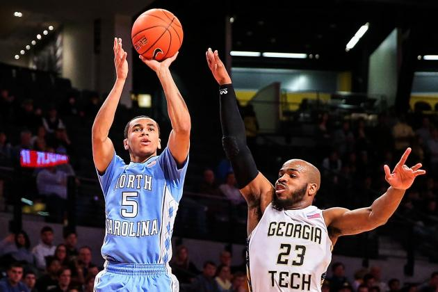 North Carolina Wins at Georgia Tech 78-65