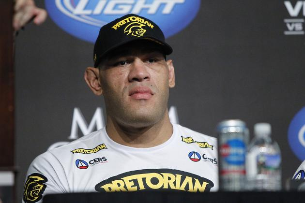 UFC: Manager Says Antonio Silva Was Lactating Due to Hormone Imbalance