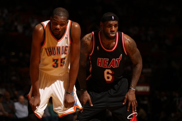 LeBron James Letting Kevin Durant Run Away with NBA MVP