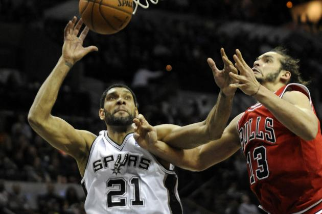 Tim Duncan Passes Bill Russell with 786th Career Double-Double