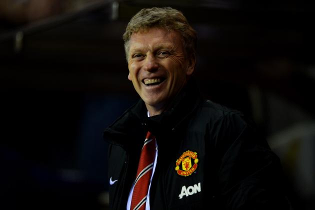David Moyes Finally Has Reasons to Be Cheerful at Manchester United