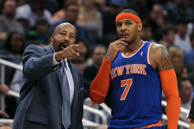 Mike Woodson: Carmelo Anthony Was 'Built For' New York Knicks