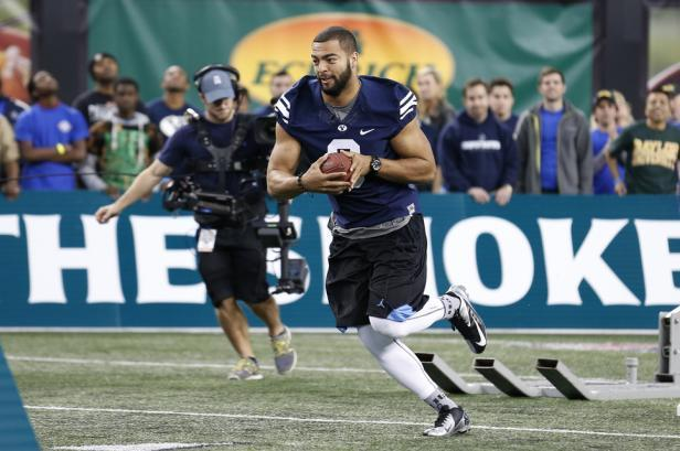 Van Noy Performs Well at 2014 Quicken Loans All-Star Football Challenge