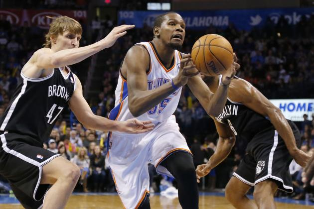 Brooklyn Nets Reportedly Plan to Pursue Kevin Durant in 2016 in Free Agency