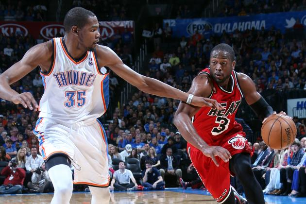 Dwyane Wade Wears 'Note to Self' Wristband to Fire Back at Kevin Durant