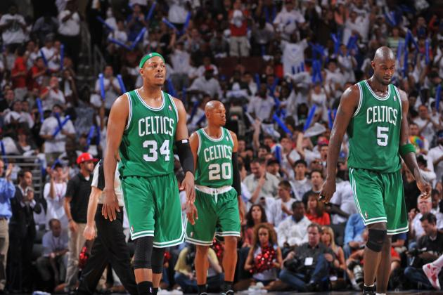 Danny Ainge 'Expects' Celtics to Retire Paul Pierce, Kevin Garnett's Numbers