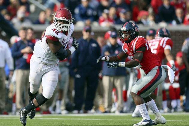 Chris Smith Scouting Report: NFL Outlook for Arkansas Defensive End