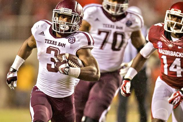 Texas A&M Won't Have Johnny Manziel, but It Will Have Stellar Run Game in 2014