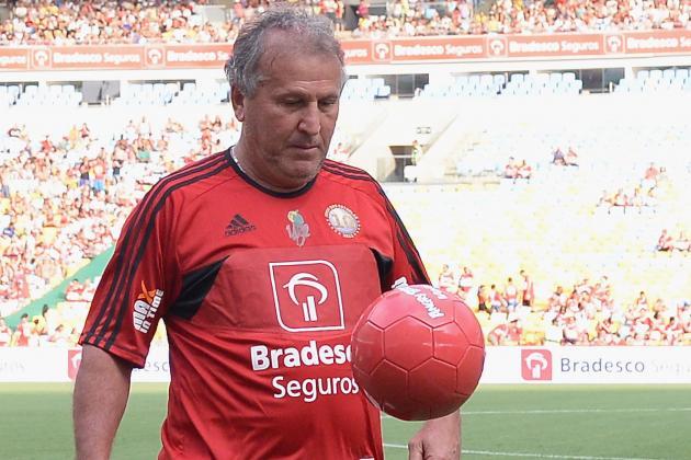 Asian Football: Brazil Legend Zico Leaves Qatari Club Al Gharafa