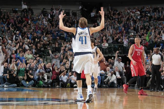 Dirk Nowitzki Reaches 26,000 Career Points Wednesday