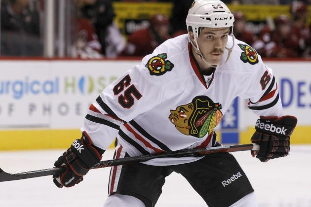 Is Andrew Shaw a Long-Term Option as Chicago Blackhawks' No. 2 Center?