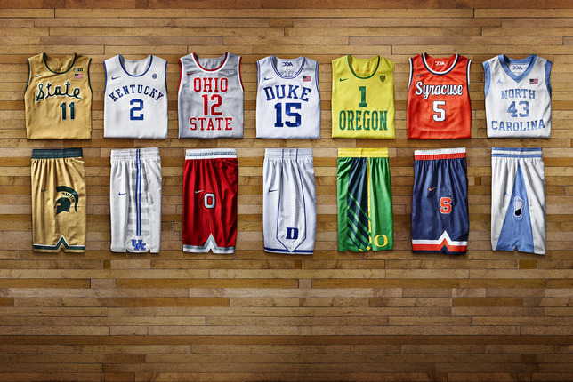 Nike Unveils 'HyperElite' Uniforms for 7 College Basketball Teams