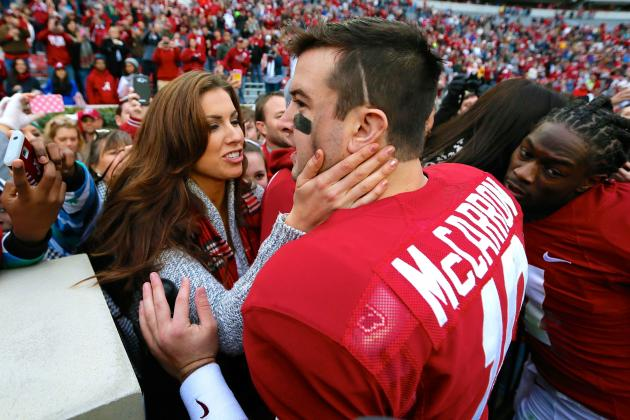 AJ McCarron Cracks Friendly Joke About Brent Musburger
