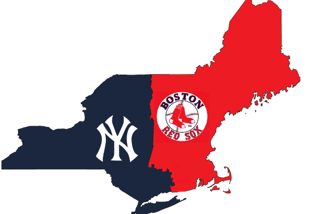Map Breaks Down Boundaries of Yankees and Red Sox Nations