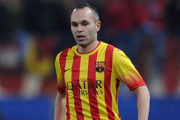 Andres Iniesta Returning from Injury Is Good Timing for Barcelona