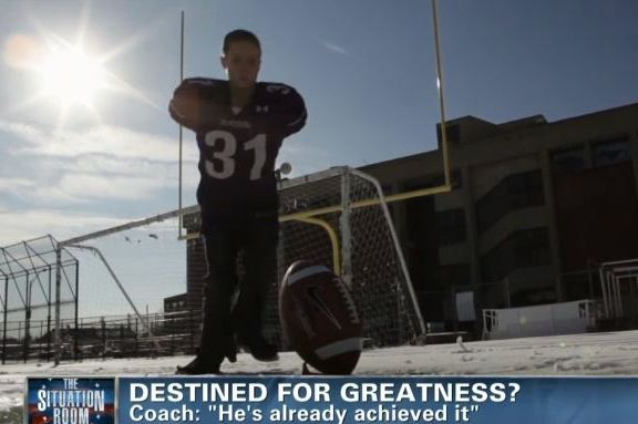 Armless High School Kicker Dreams of Playing in NFL