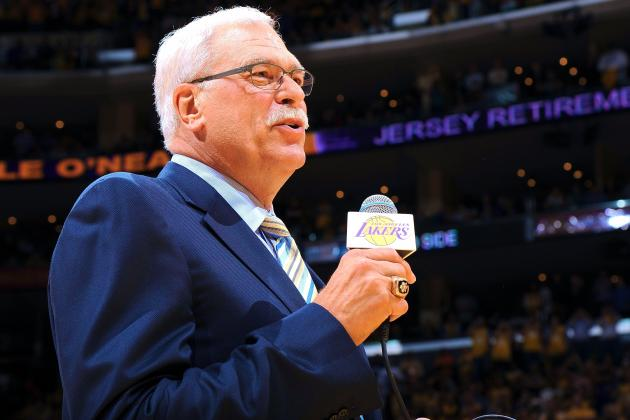 Phil Jackson Says Lakers Overspent on Kobe Bryant's Contract Extension