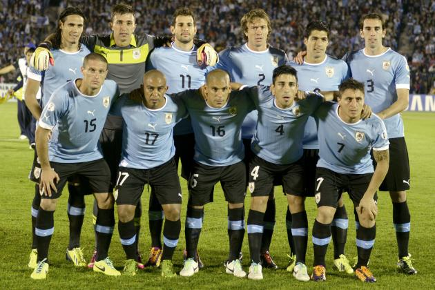 2014 World Cup Tactics Board: Analysing Oscar Tabarez's Uruguay