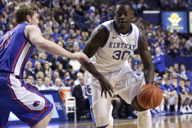 Julius Randle Is Key to Kentucky Wildcats Beating the Missouri Tigers