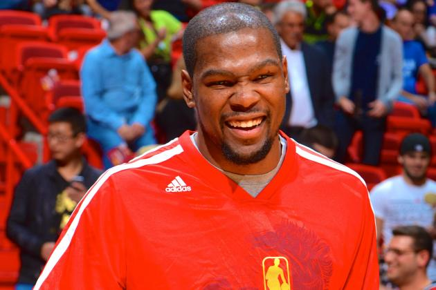 Kevin Durant Wants to Play Until He's 40