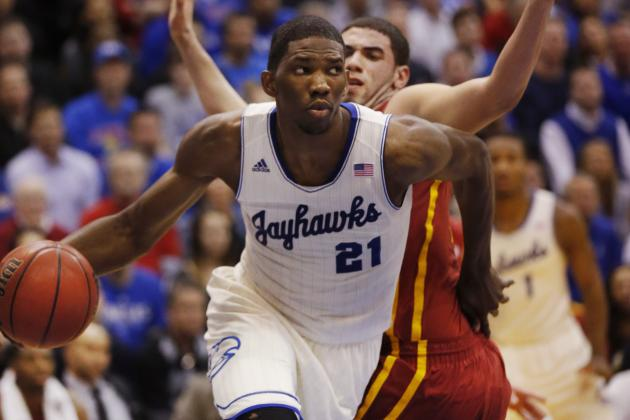 Kansas Basketball: Comparing Joel Embiid and Hakeem Olajuwon's Freshman Years