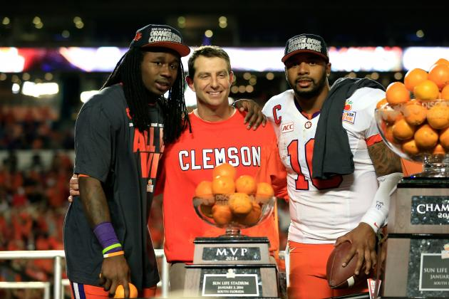 Can Dabo Swinney Keep Clemson on the Right Track Without Departed Superstars?