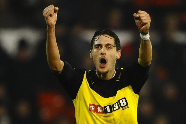 Gabriele Angella Scores Flick Golazo for Watford Against Nottingham Forest