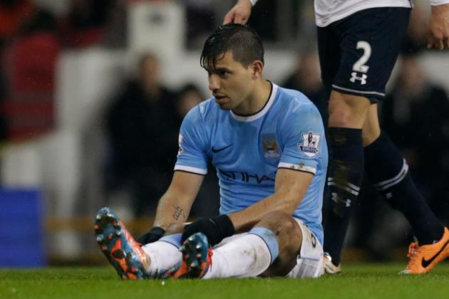 Premier League Injury News, Fantasy Impact: Aguero out for Four Weeks