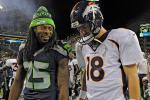 Peyton 'Proud' of Throws Sherman Calls Ducks