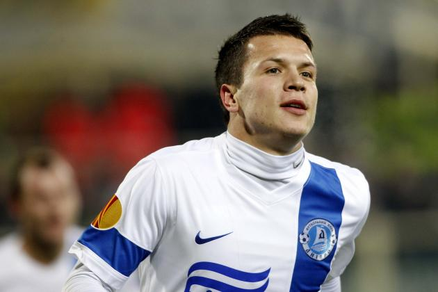 Liverpool Transfer News: Yevhen Konoplyanka's Agent Says Deal with Reds Unlikely