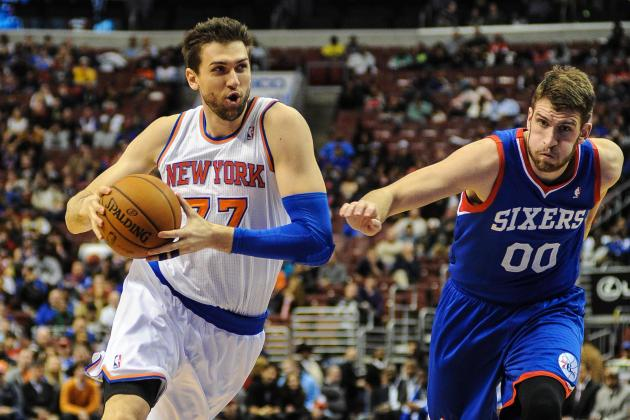 Andrea Bargnani on Elbow Injury: It's 'Terrible'