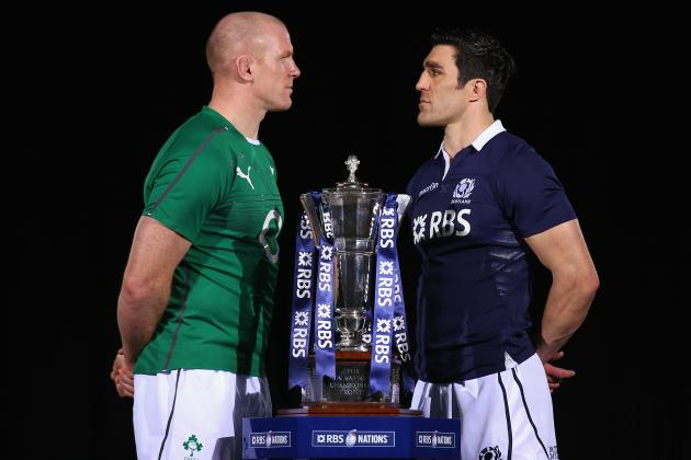 Ireland vs. Scotland Rugby 2014: Date, Time, Live Stream, TV Info and Preview