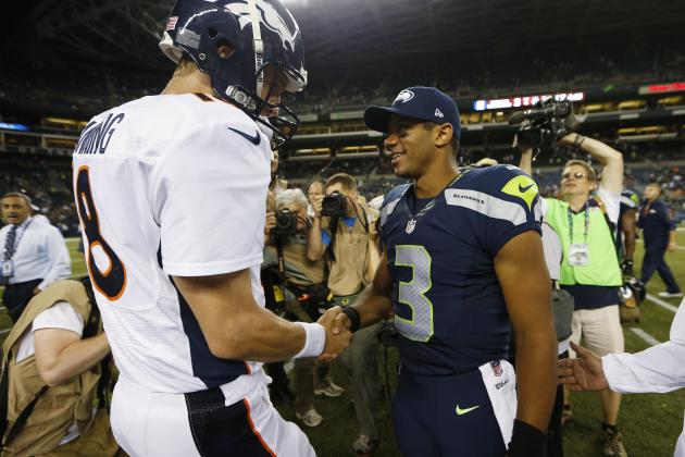 Super Bowl Odds: Props Feature Peyton Manning, Russell Wilson Betting Lines