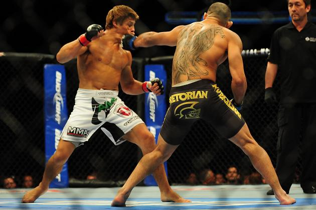 UFC 169 Start Time: When and Where to Watch Barao vs Faber