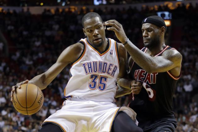 Kevin Durant's Historic Hot Streak Delivers a Message, Loud and Clear