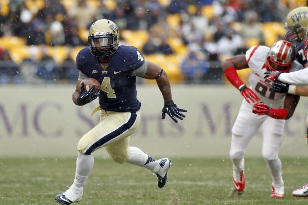 Ex-Pitt RB Rushel Shell Has Talent, but a Lot to Prove at West Virginia