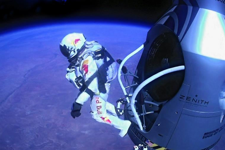 GoPro Super Bowl Commercial Shows 1st-Person View of Felix Baumgartner's Jump