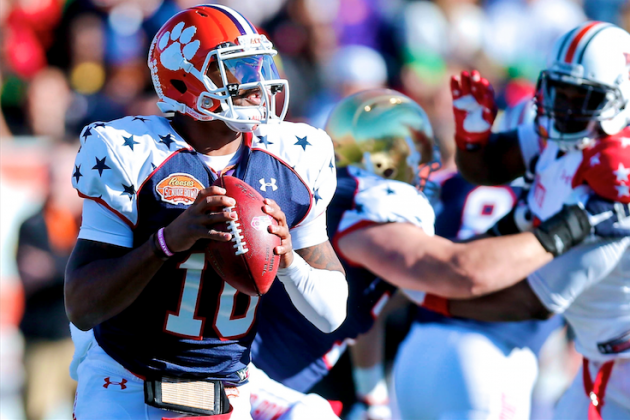 How Tajh Boyd Can Rebuild His NFL Draft Stock