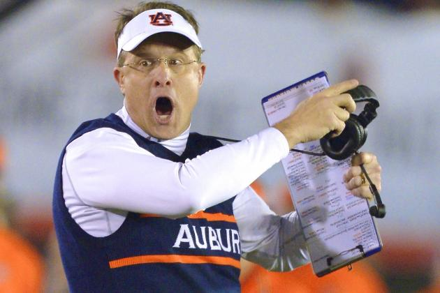 Auburn's Gus Malzahn Is Confident He Can Beat Alabama, and That's Refreshing
