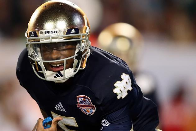 Kelly: Golson Won't Be Handed Irish Starting Job
