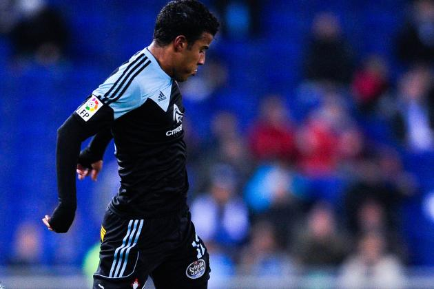 GIF: Barcelona's Rafinha Lays on Great Assist While on Loan at Celta Vigo