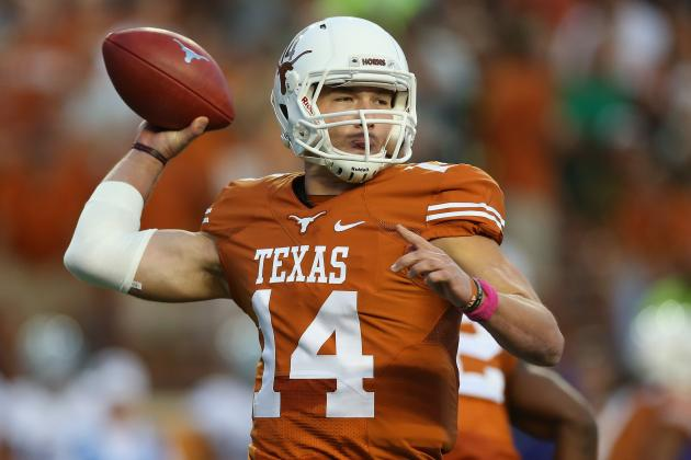 Texas Football: How Long a Leash Will Charlie Strong Give David Ash?