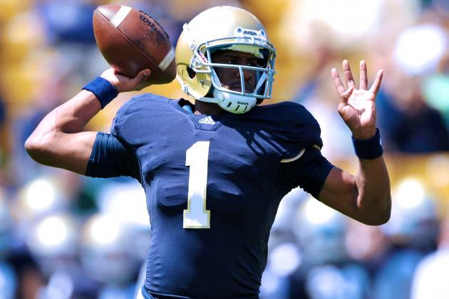 Brian Kelly Not Ready to Hand Everett Golson Notre Dame 2014 Starting QB Job