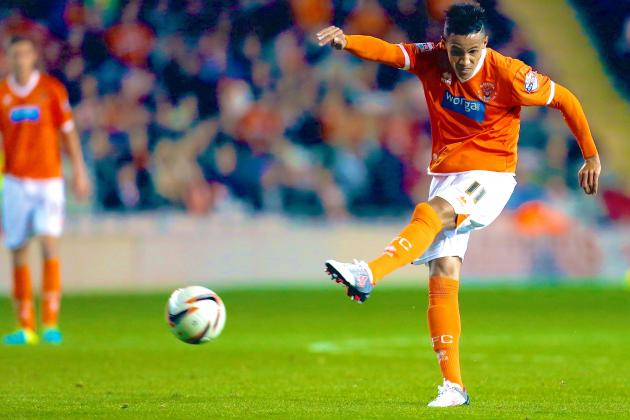 Tom Ince Joins Crystal Palace on Loan from Blackpool