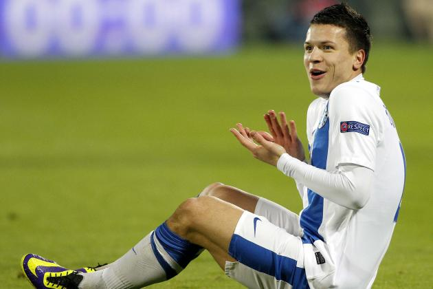 Liverpool Transfer News: Reds Deal for Yevhen Konoplyanka Falls Through