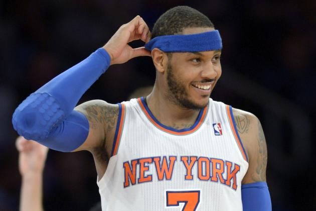 Carmelo Anthony Becomes 50th Player to Score 19,000 Career Points