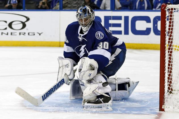 Lightning Have Injury Problems at Goalie